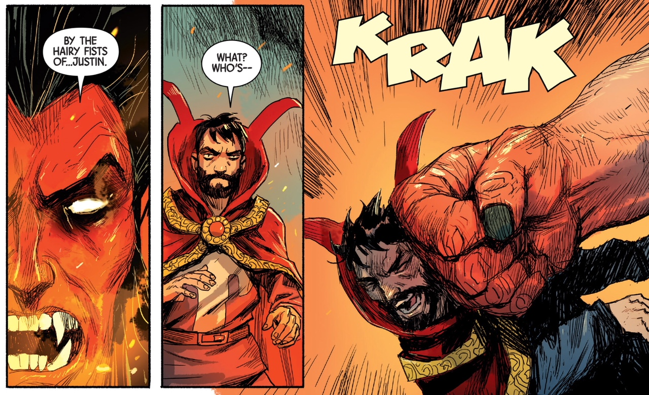 Doctor Strange  #386 by Donny Cates and Niko Henrichon