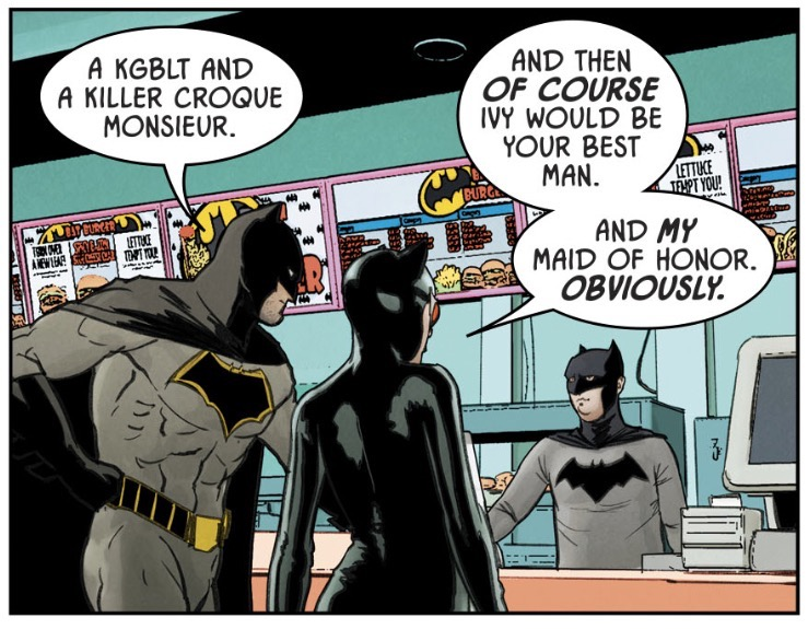 Batman  #42 by Tom King, Mikel Janin, and June Chung