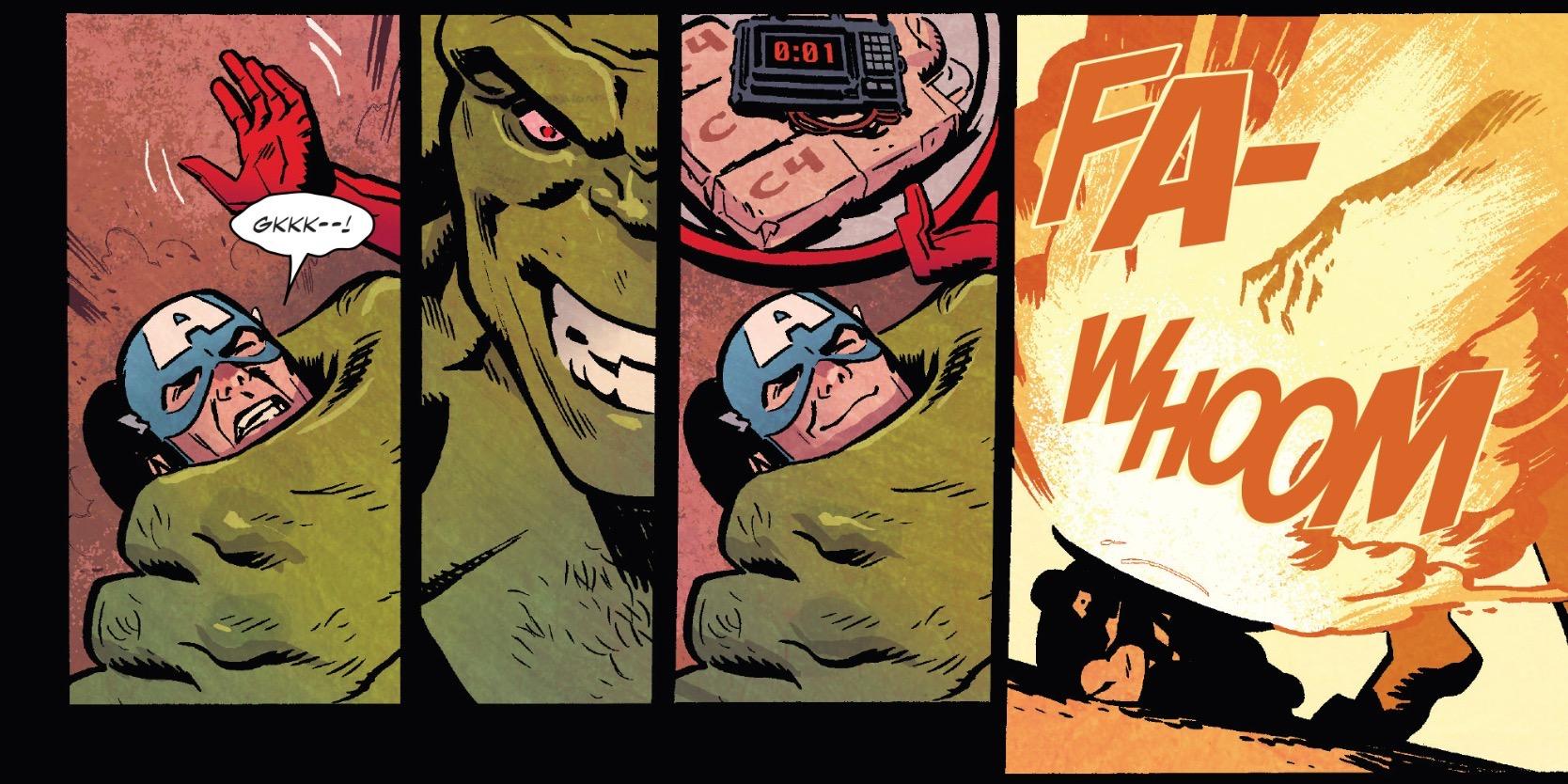 Captain America  #699 by Mark Waid, Chris Samnee, and Matt Wilson