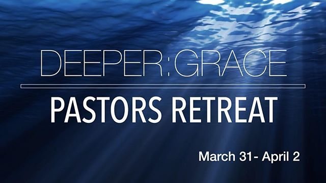 Deeper:Grace is a pastors retreat with the invitation to go deeper into God's grace!  Link in our profile!