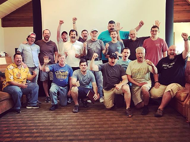 We got something back this weekend! Something so critical to live the life God intended us to live as men!  We got our hearts back! #wahky #wildatheartkentucky #wildatheart #cleftRock #cleftrockretreat