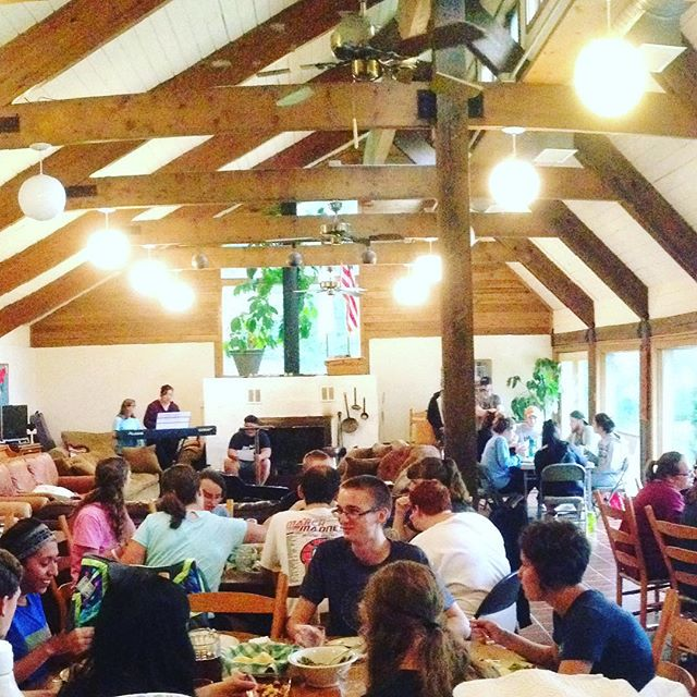 The Lodge is full this week!  It has been great hosting the group from @ltneighborhood