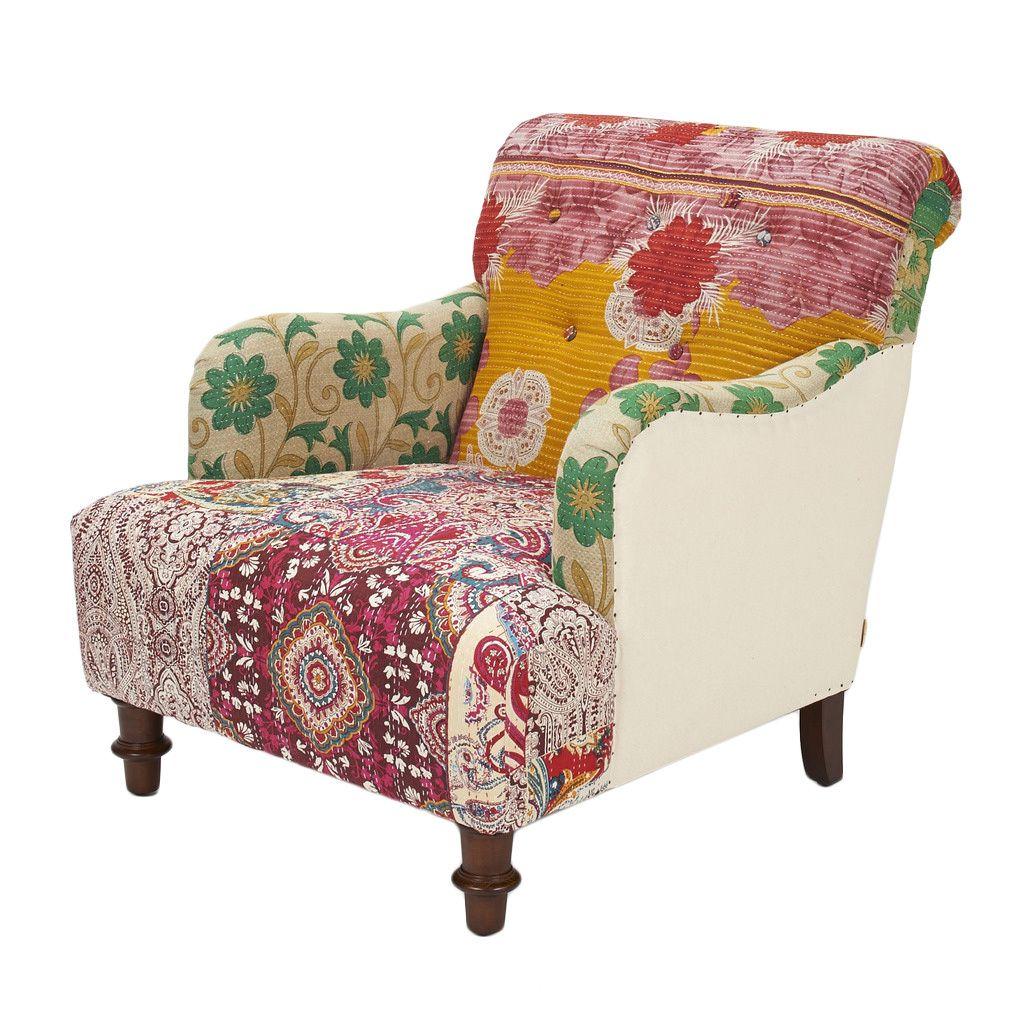 Jennifer Taylor Kantha armchair
