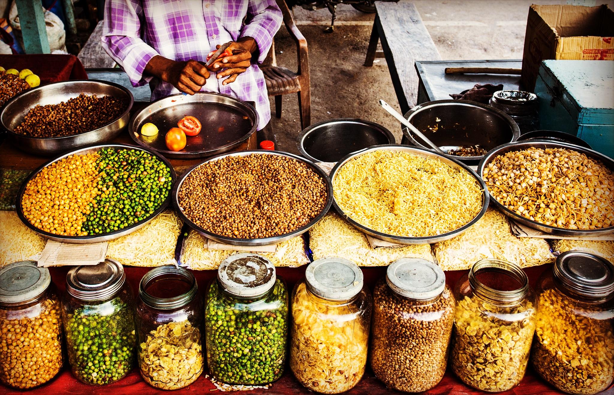 Copy of A street snack vendor