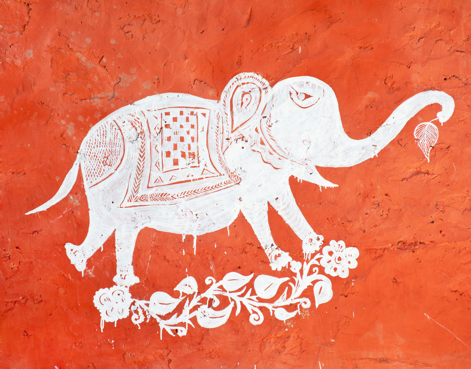 Wall Painting, Jaipur.