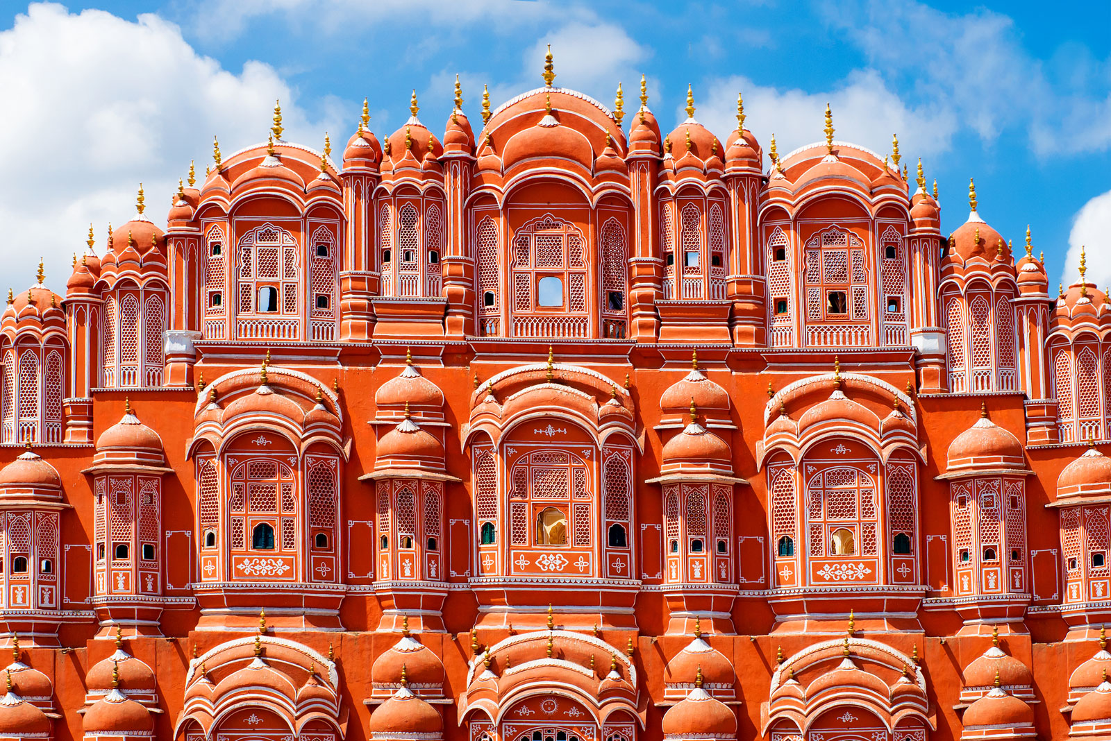 Hawa Mahal, the Palace of Wind.