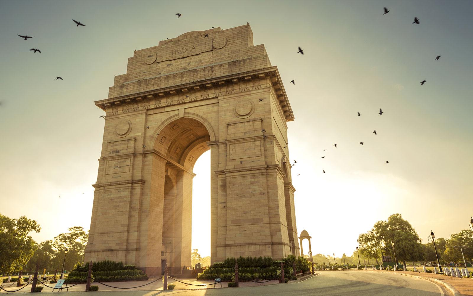 India Gate, Lutyen's Delhi.