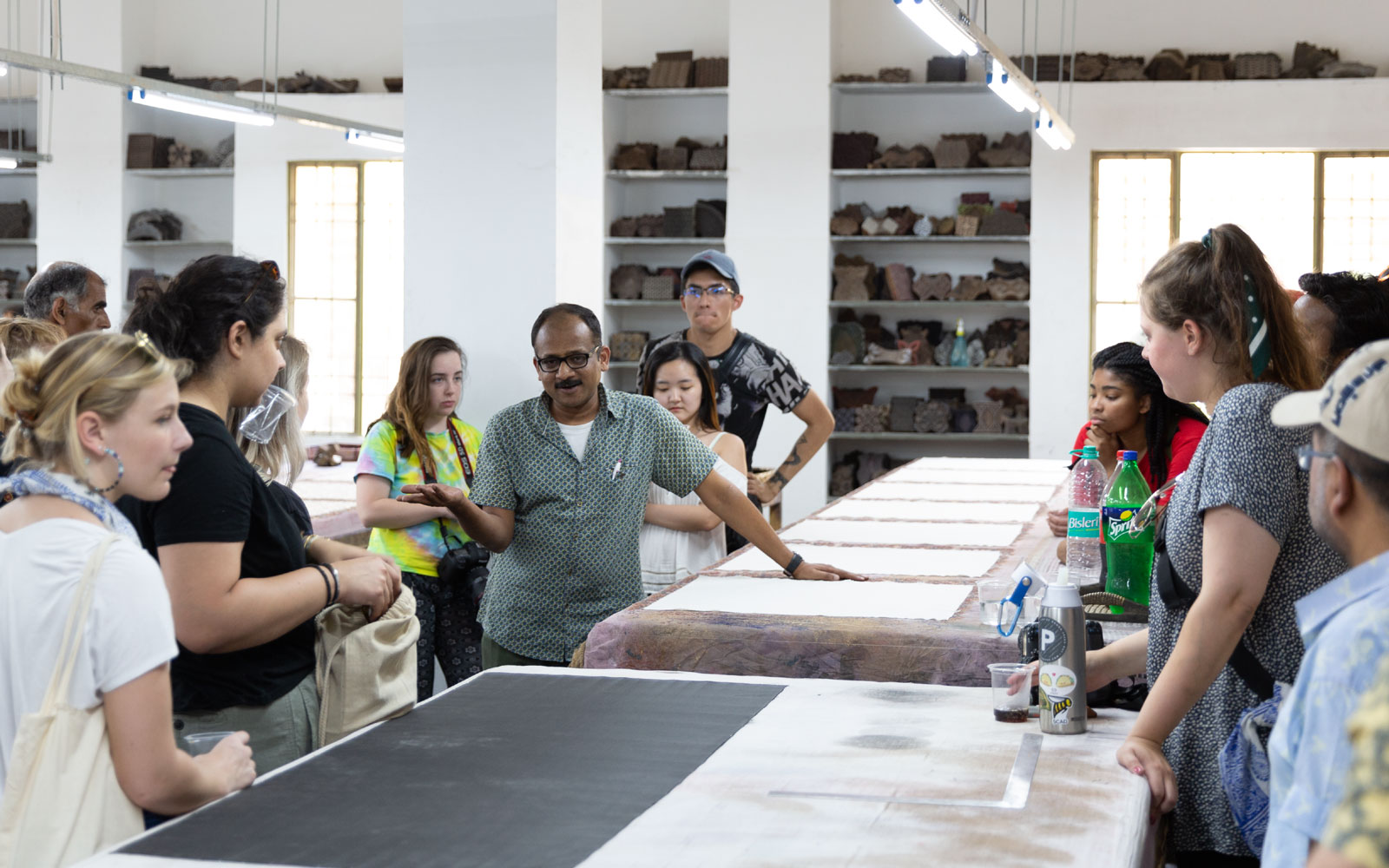 Manish Tibrewal on traditional processes and design applications at an India By Hand workshop