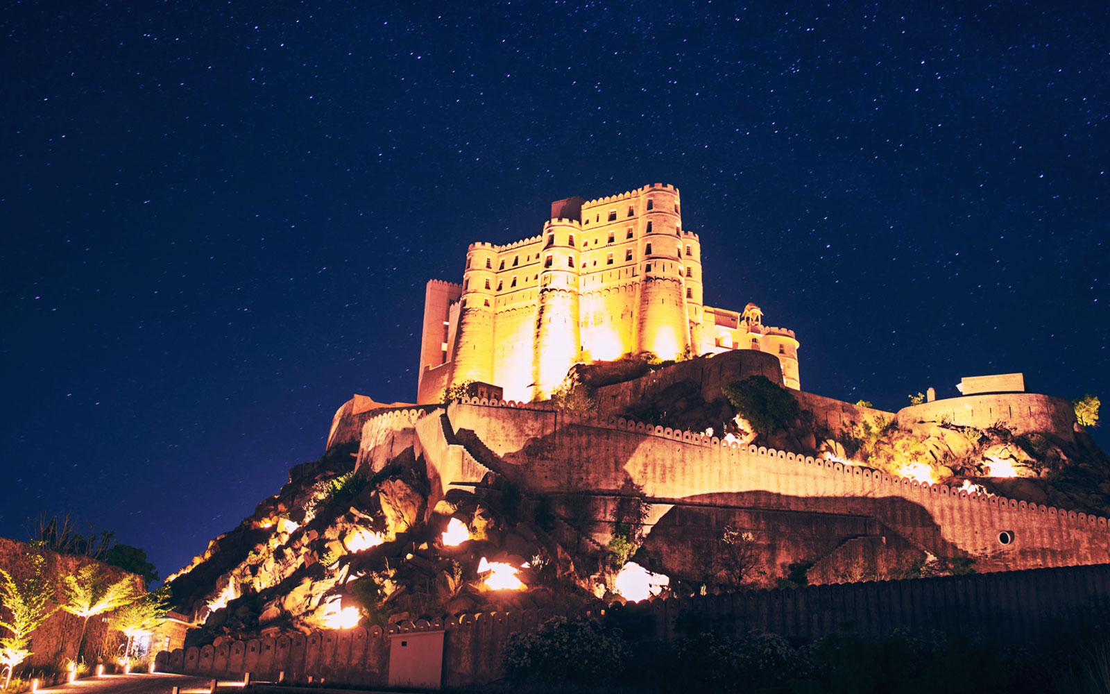 The spectacular Alila Fort, Rajasthan could be your conference hotel | Image © Travel + Leisure India