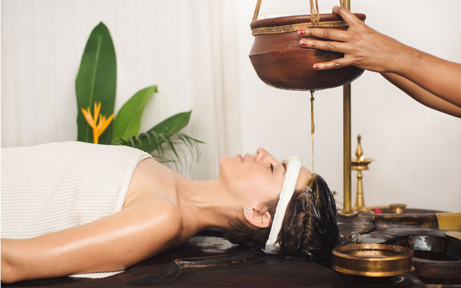 Recharge with ayurvedic spa sessions
