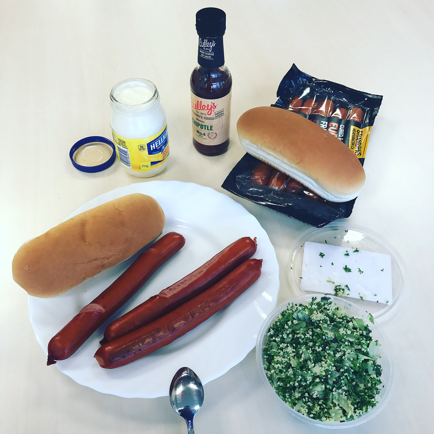 All I can say is thank God there's not much variety of good hotdogs (American style) and frankfurters in New Zealand....these are chicken franks from the Grandpa brand