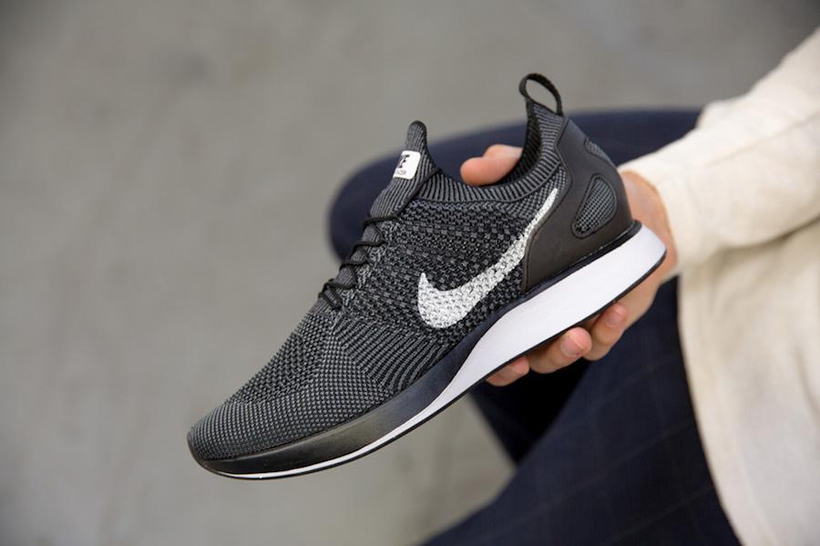 Nike Nike Air Zoom Mariah Flyknit Racer iD Women's Shoe Size 9.5 (White) from Nike ShapeShop  ShapeShop