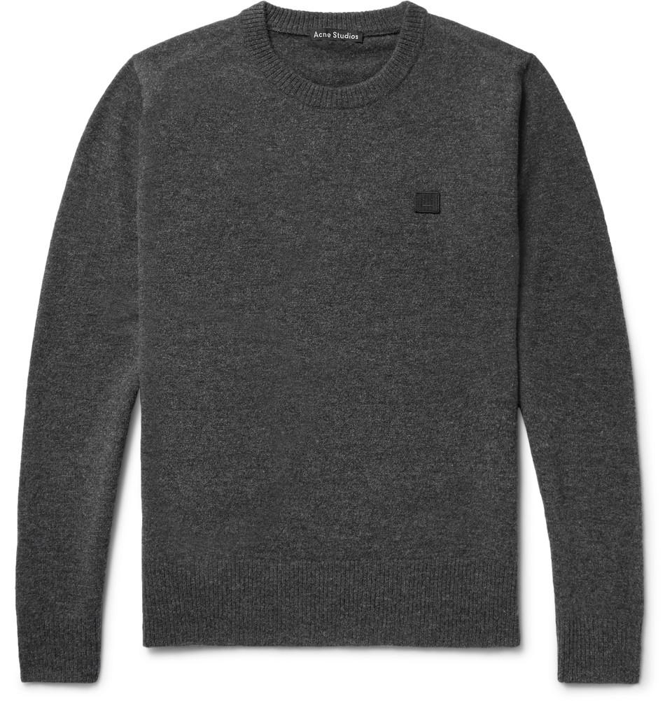 ACNE STUDIOS Nalon wool sweater, NZD $471.17