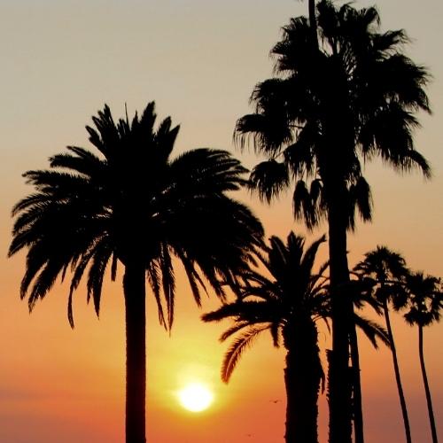 Sunset at Santa Monica
