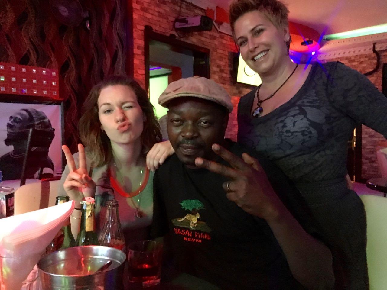 Saturday night shenanigans with Zak & Vickie