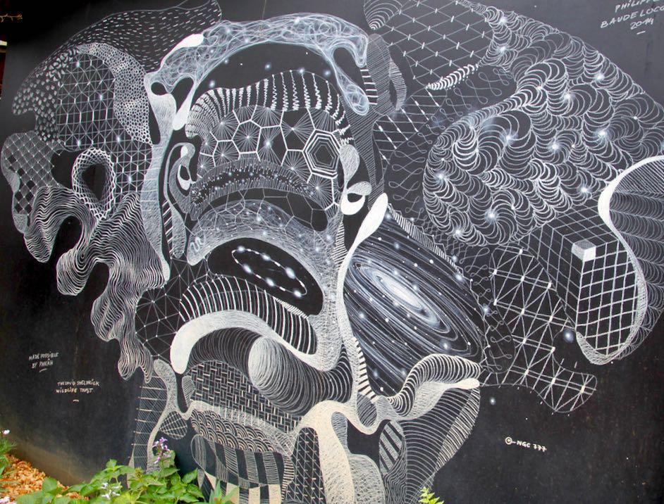 Artwork at Sheldrick's Elephant Orphanage