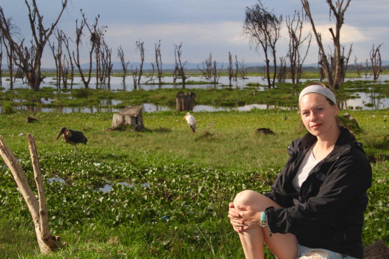 At Lake Naivasha