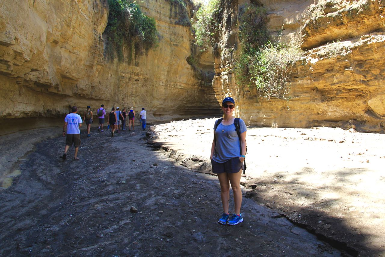 In the gorge which inspired 'that moment' of Lion King