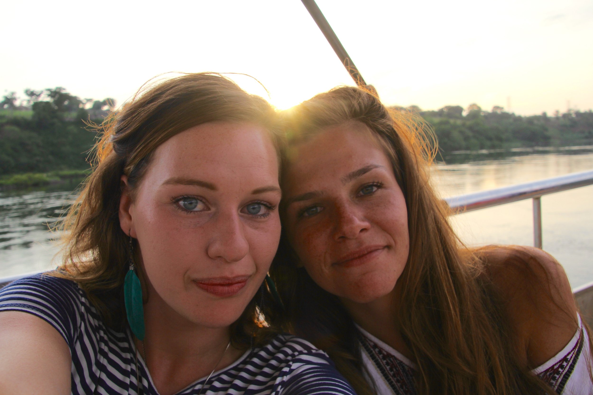 Myself and Lena on the cruise