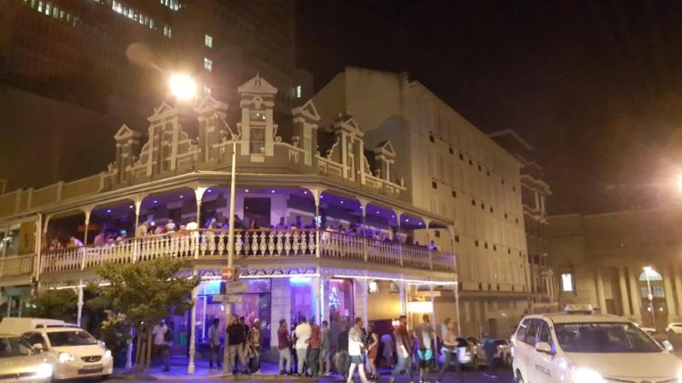 Bar hopping down Long street