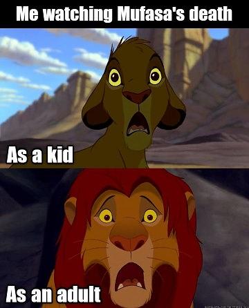 Mufasa death