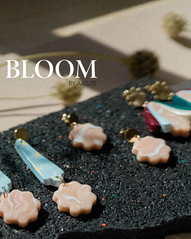 The new range, BLOOM, is finally out and available online. Featuring more marbled goodness, terrazzo accents and more variety in the Flower Art style (I think the Daisy Sky is my fave!). A mega thank you to @light.gloss photography (product images) and to @mianmarthelabel for featuring some of the new gems in her graduate collection. Model image credits by @moniquemobbs 🌼