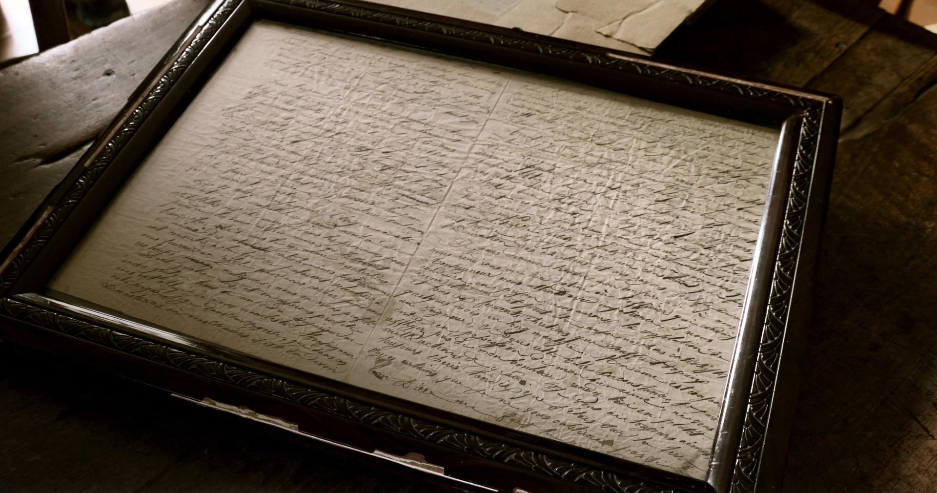 샤스탕 신부가 순교 직전 가족들에게 보낸 편지.  만 24세에 신부가 된 샤스탕은 조선 선교사가 되기를 자청하고 1833년 조선으로 길을 떠나 1837년 김대건 신부와 조선에 입국하였다.  1839년 박해가 일어나자 앵베르 주교는 샤스탕 신부에게중국으로 피신할 것을 권했으나 샤스탕 신부는 남아 사역을 계속하였다.박해가 심해지자 신부는자수하여 1839년 9월 21일 새남터에서 군문효수형을 받아 순교하였다.  (1839,파리 외방전교회 고문서고)