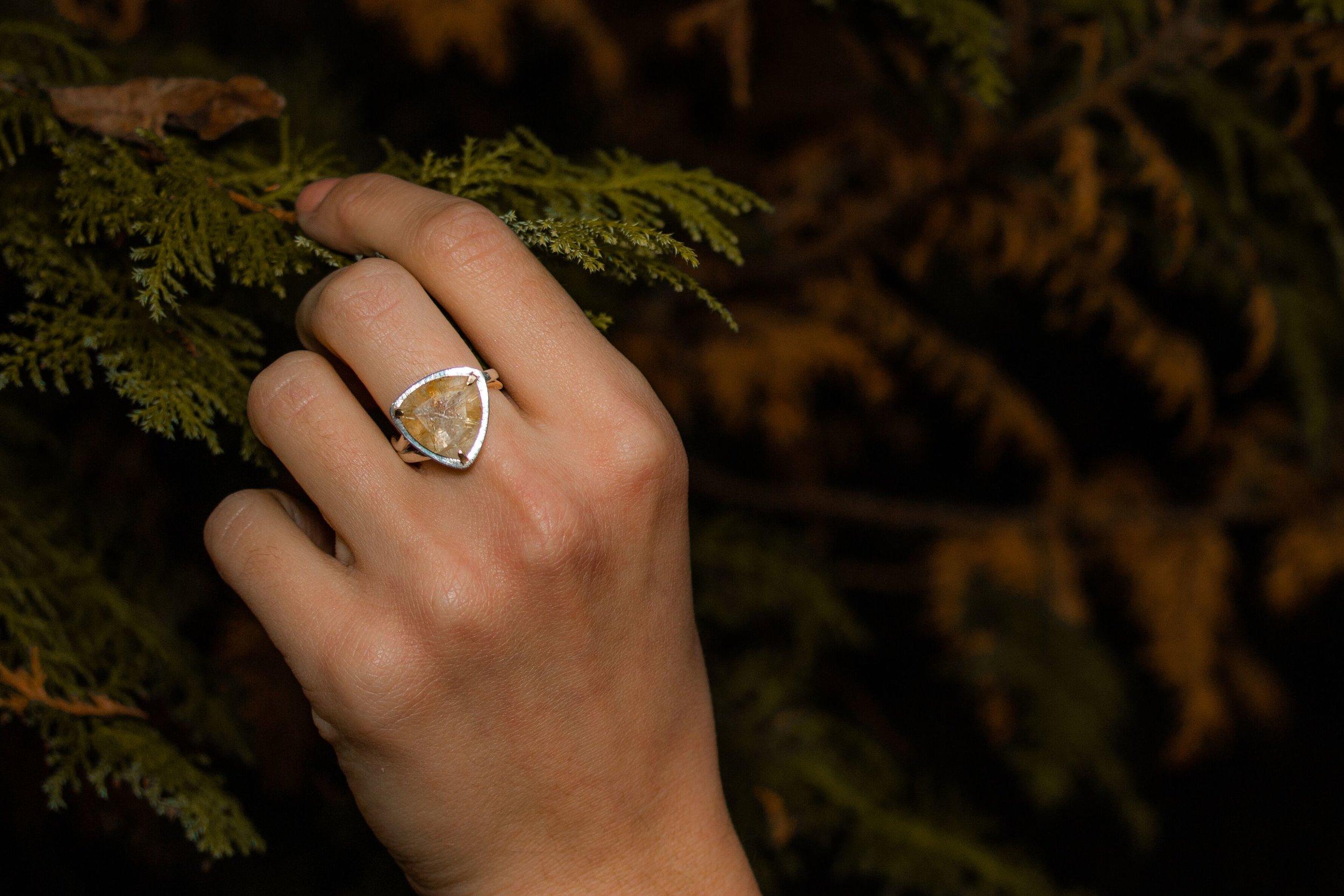 Statement silver ring hand modelled.jpeg