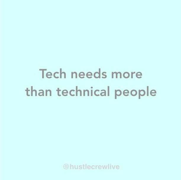 The tech world is not only for techy people, #techisforeveryone⁣⠀ ⁣⠀ Like any other other industry, tech companies need people with great communication skills to work with stakeholders internally and externally. They need creative people to solve problems and build products. They need analytical people to make data-driven decisions and support growth.⁣⠀ ⁣⠀ Nontechtech.com was created to break down barriers, challenge common misconceptions, and ensure every bright mind has the opportunity to build a rewarding career in tech. ⁣⠀ ⁣⠀ It features a mentor-matching tool for anyone who wants to get career advice to pick a relevant mentor from our community and reach out for support. It's also simple for people who want to mentor to sign themselves up to our directory, making themselves available to be contacted by community members.⁣⠀ ⁣⠀ We also have a Slack channel with topics such as  knowing what jobs are right for you, finding jobs to apply for, tackling CVs and cover letters and preparing for interviews.⁣⠀ ⁣⠀ Take a look at nontechtech.com and let us know what you think! ⁣😀⠀ ⁣⠀ #nontechtech #techindustry #jobsintech #womenintech #mentoring #hustlecrew