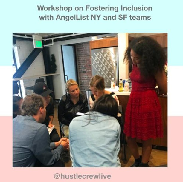 Hustle Crew works with organisations who:⁣⠀ ⁣⠀ -Equip individuals from all backgrounds with careers skills⁣⠀ ⁣⠀ -Campaign for greater inclusion across the tech and digital space⁣⠀ ⁣⠀ -Want to attract more diverse candidates⁣⠀ ⁣⠀ -Build and maintain inclusive cultures⁣⠀ ⁣⠀ -Tackle unconscious bias⁣⠀ ⁣⠀ -Foster greater diversity and inclusion in their teams⁣⠀ ⁣⠀ If that sounds like your organisation get in touch, we would love to help. ⁣⠀ ⁣⁣⠀ #diversityintech #womenintech #empowerment #careers #hustlecrew #diversity #representationmatters #inclusion  #diversityandinclusion #leanin #diversityintheworkplace⁣ #womenintheworkplace #dreambighustlehard⁣ #Abadesi⁣
