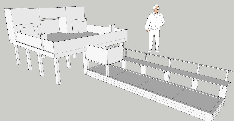 Set design and construction: Lauren Nichols & Britain Wilcock