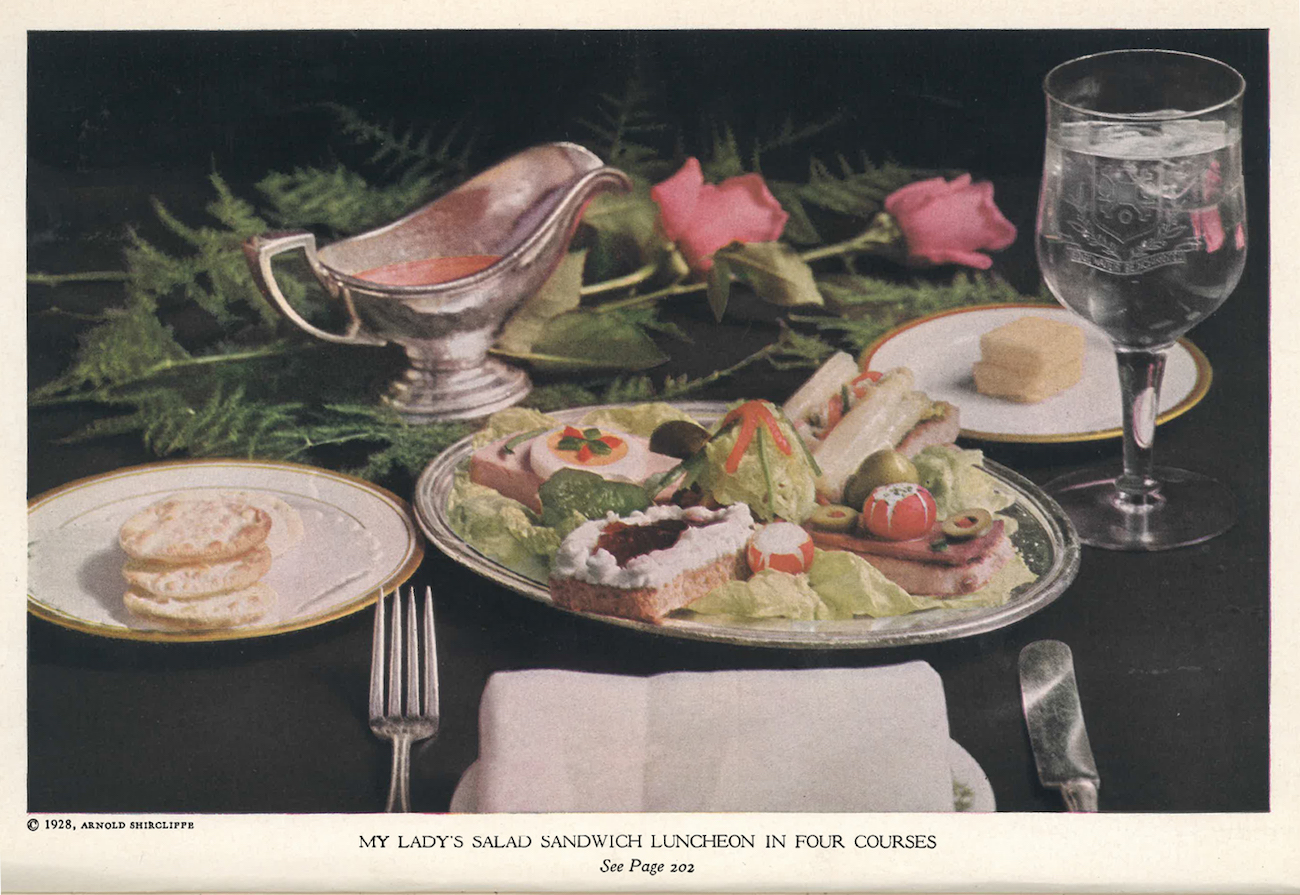 Image:  The Edgewater Beach Salad Book