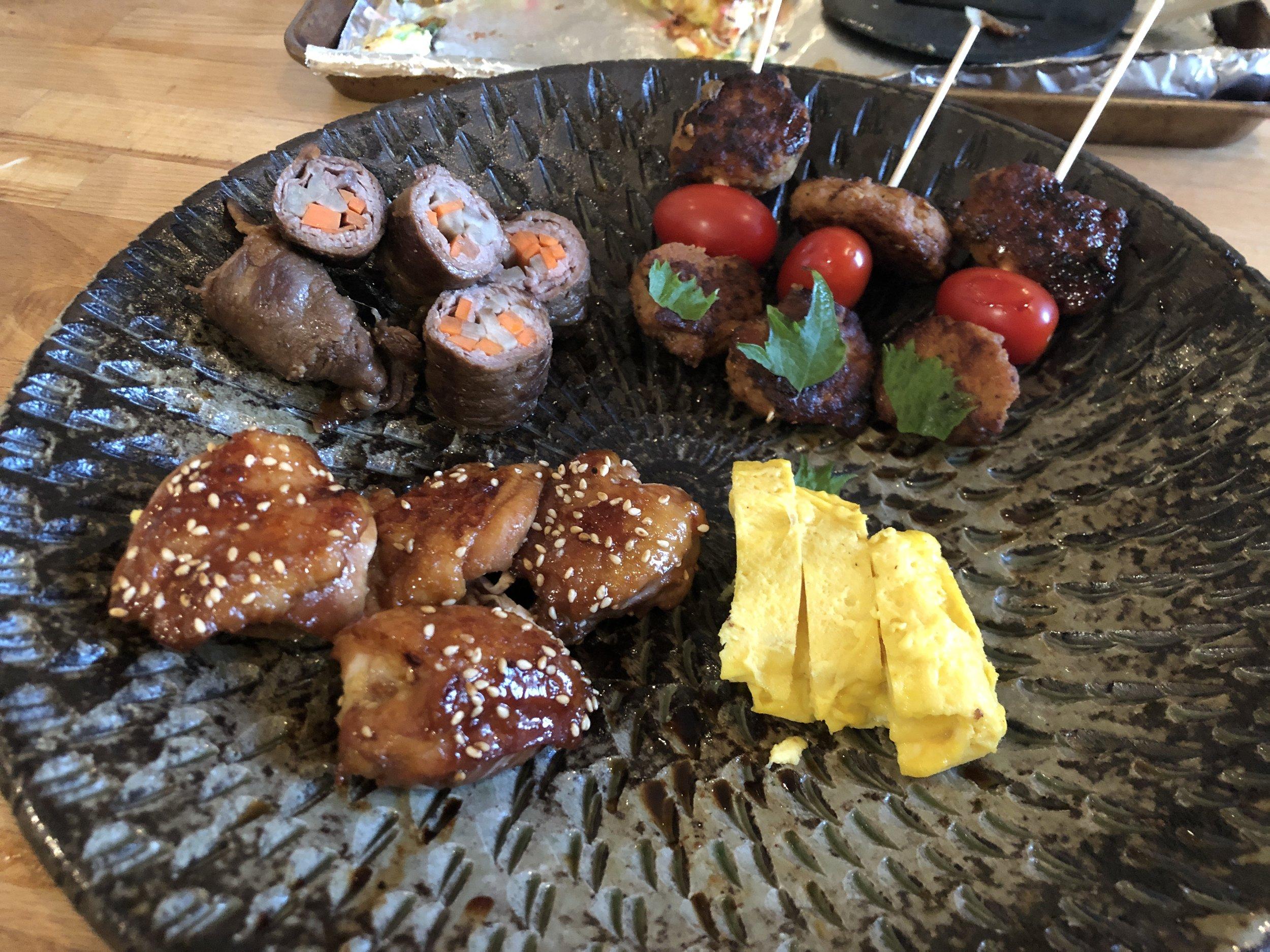 Izakaya: Japanese bar foods - Peppery teriyaki chicken, savory Osaka style Okonomiyaki pancake to everyday comfort foods to end the night. Not just for beer and sake lovers.Book Online