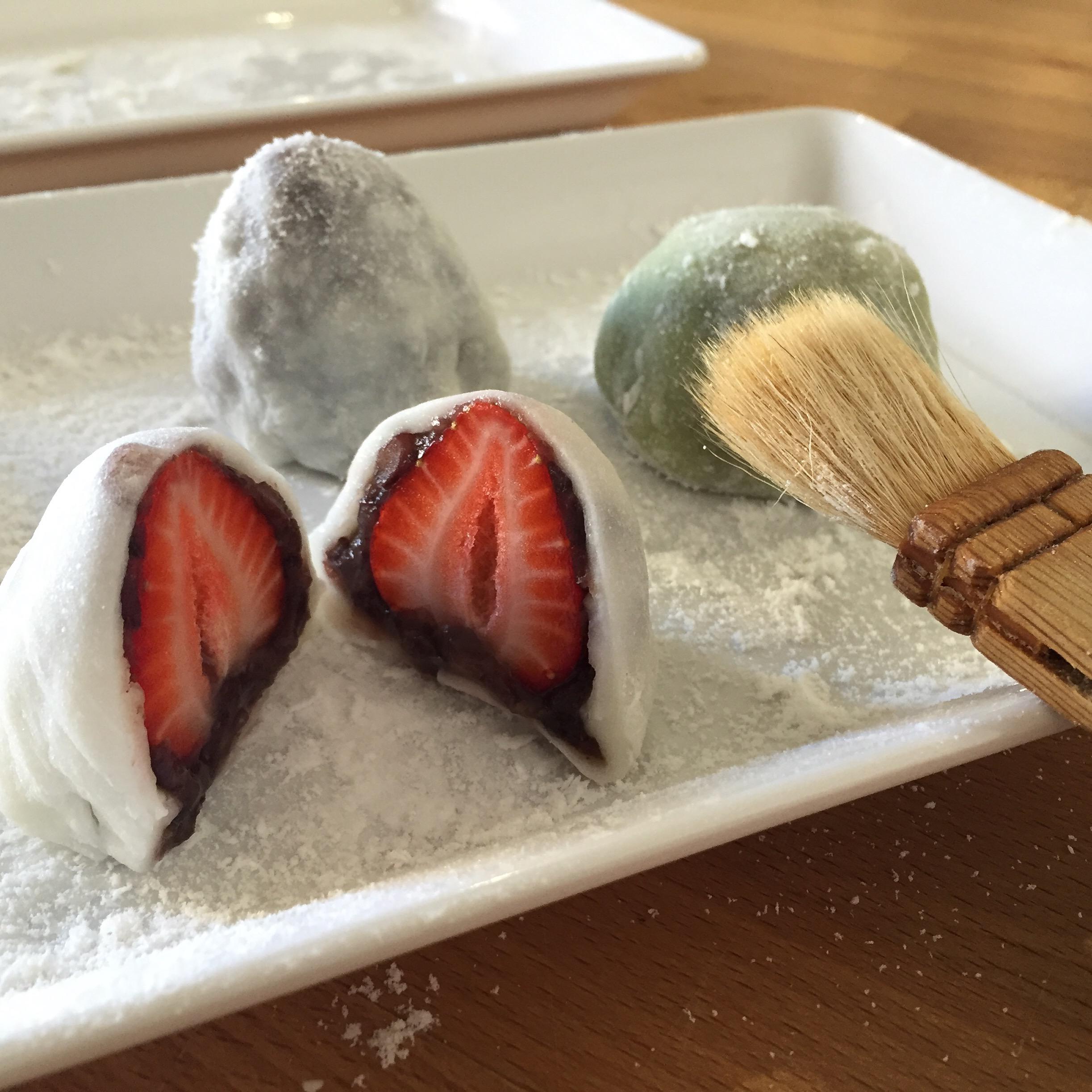 Japanese Sweets: Mochi Making -