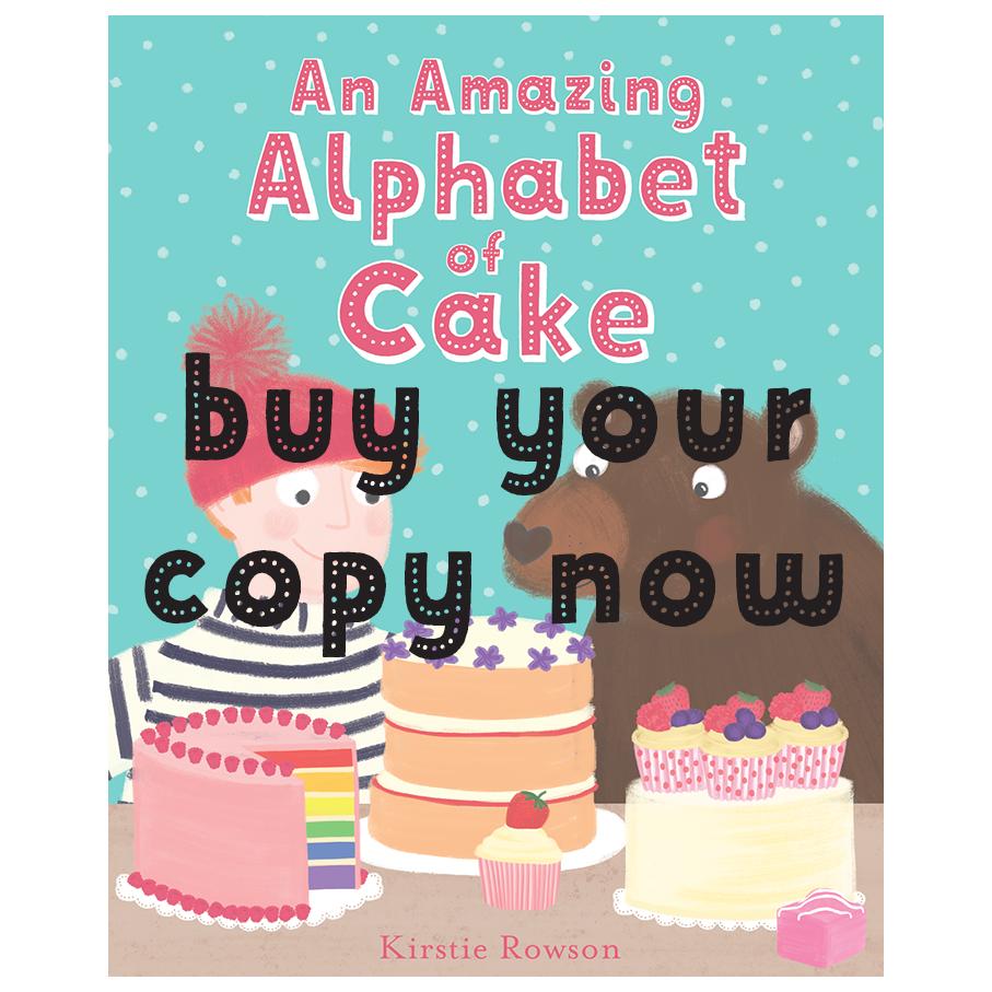 An Amazing Alphabet of Cake