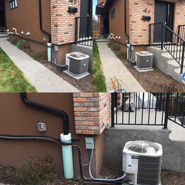 Even with a tough install Steelhorse still makes it clean and professional. Get your free A/C quote to before the heat wave