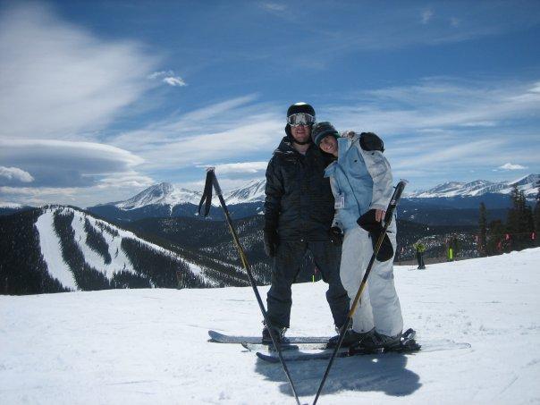 Skiing in Colorado- 2007