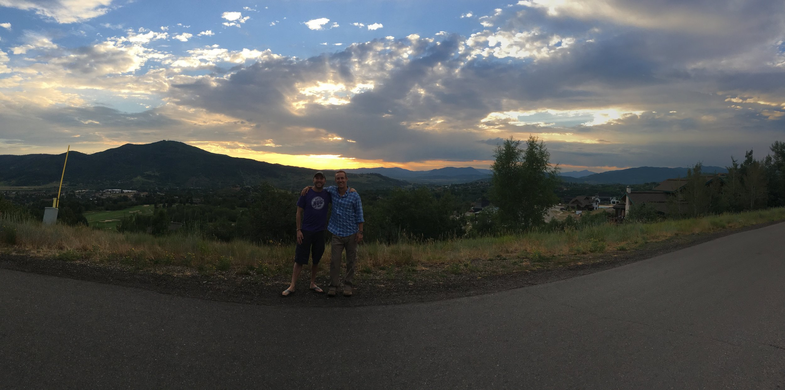 Mike and Jon is Steamboat Springs, CO