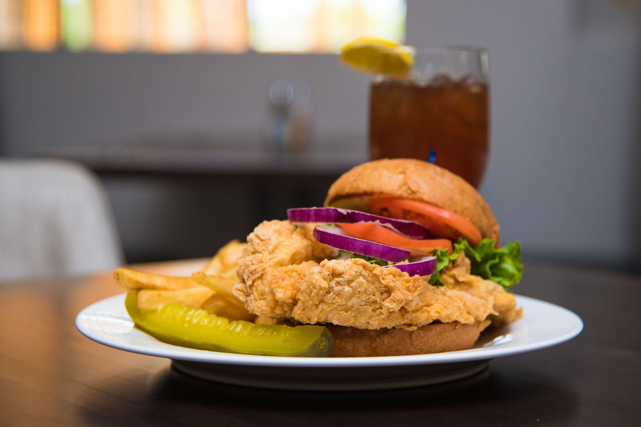 Grilled or Fried Chicken Sandwich