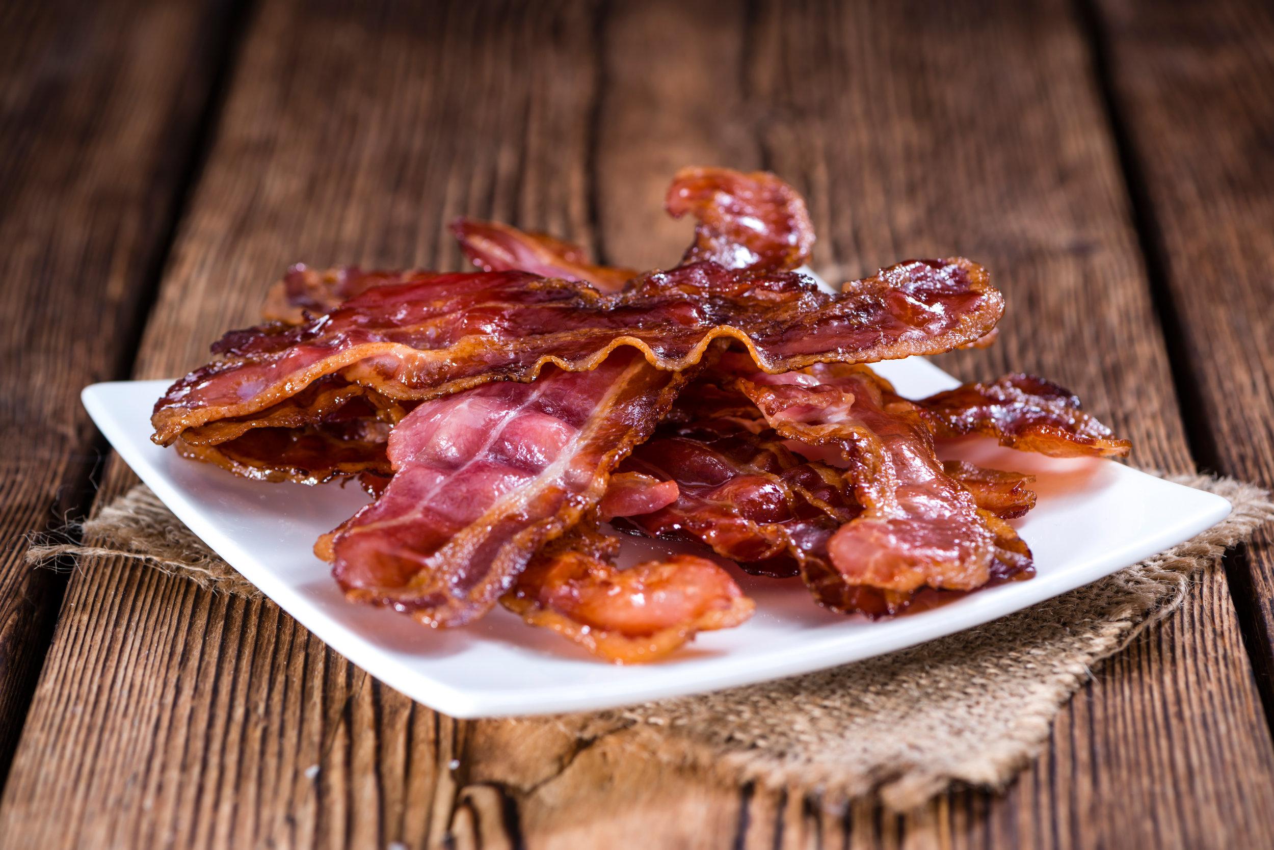 Bacon, Bacon & more Bacon