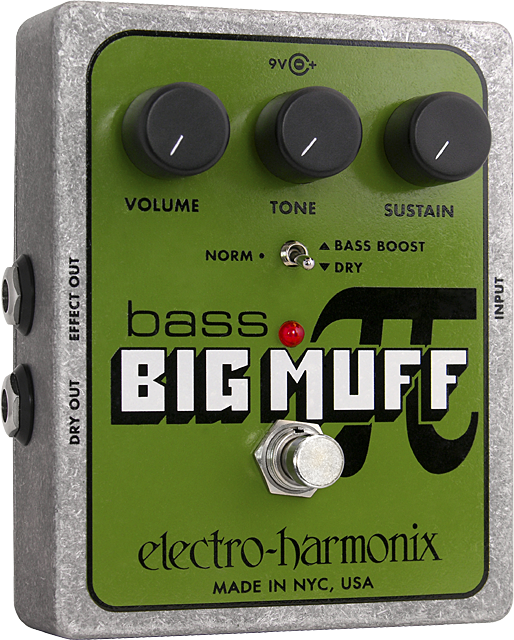 Bass Big Muff Pi Distortion/Sustainer