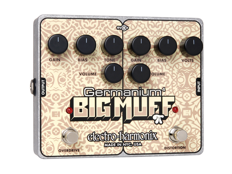 Germanium 4 Big Muff Pi Distortion/ Overdrive