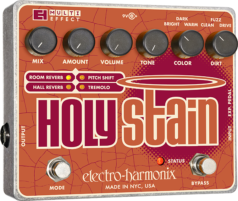 Holy Stain Distortion/Reverb/Pitch/Tremolo Multi-Effect
