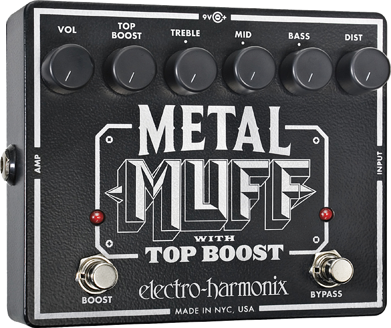 Metal Muff Distortion with Top Boost