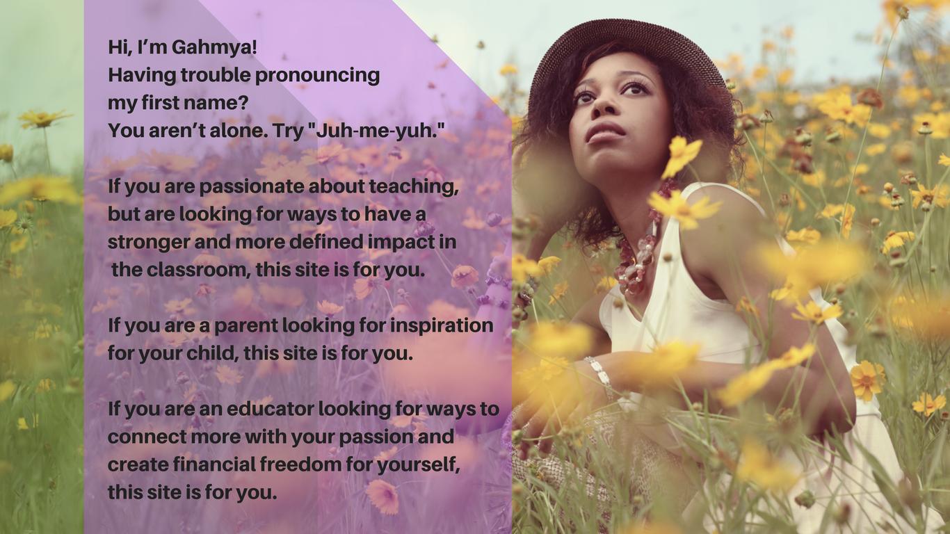 about Gahmya Drummond-Bey