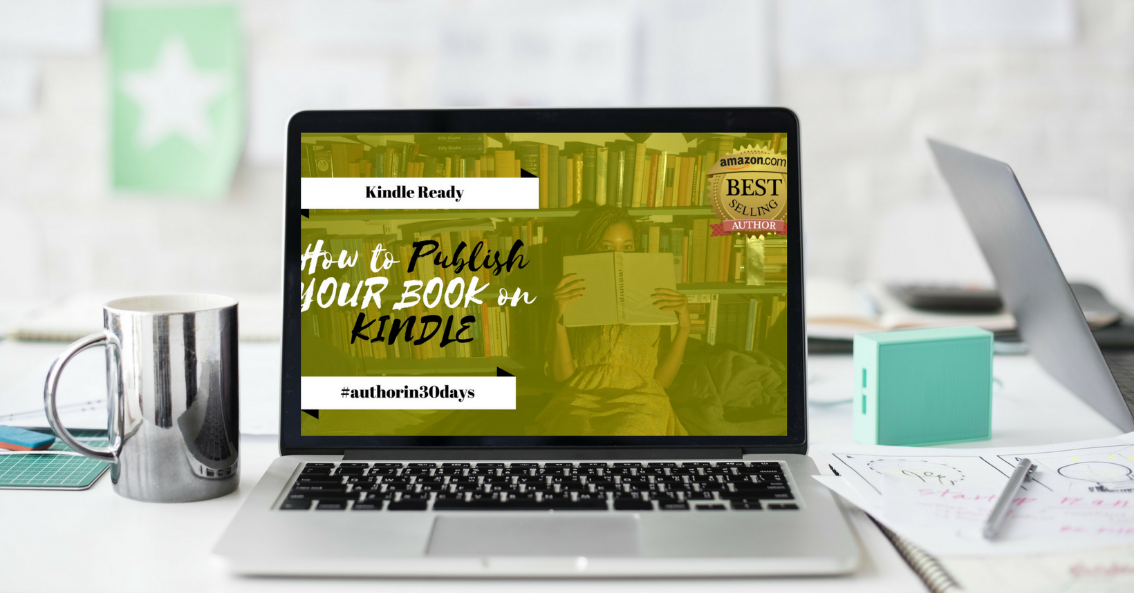 How to Publish Your Book on Kindle Masterclass  Worth $97
