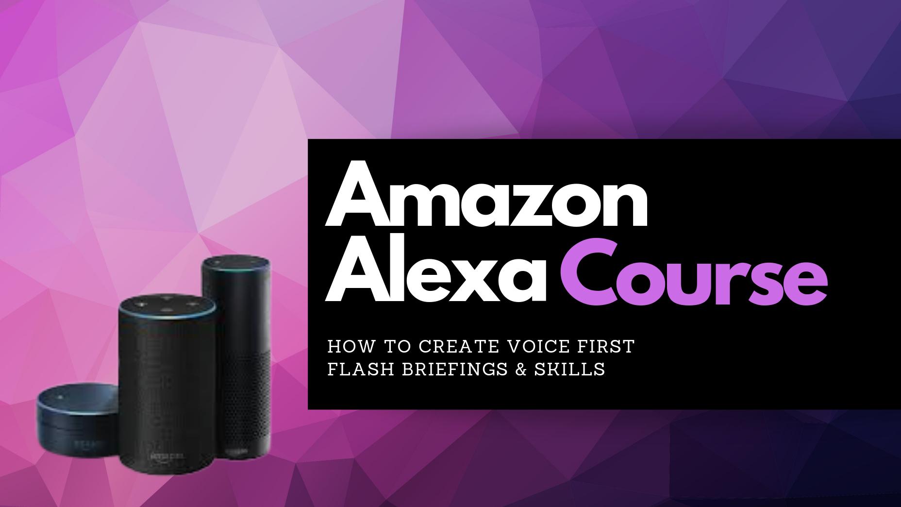 how to create an Alexa Flash Briefing