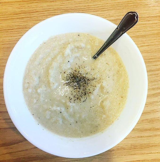 Amy's cauliflower soup