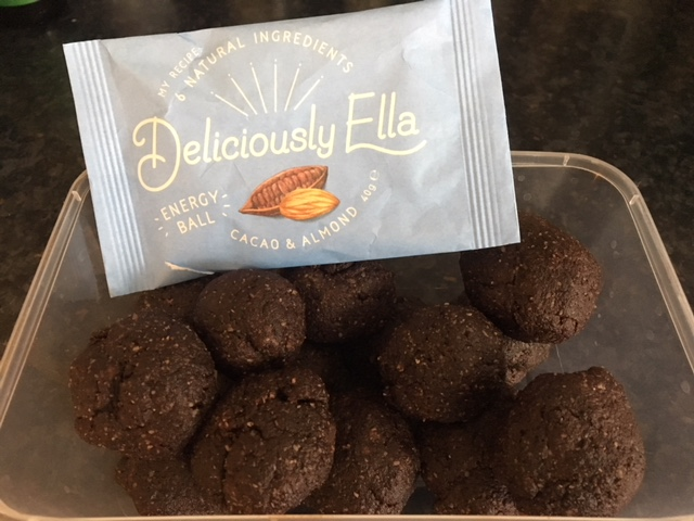 DeliciouslyMine - I made an absolutely delicious version of the cocoa and almond energy balls