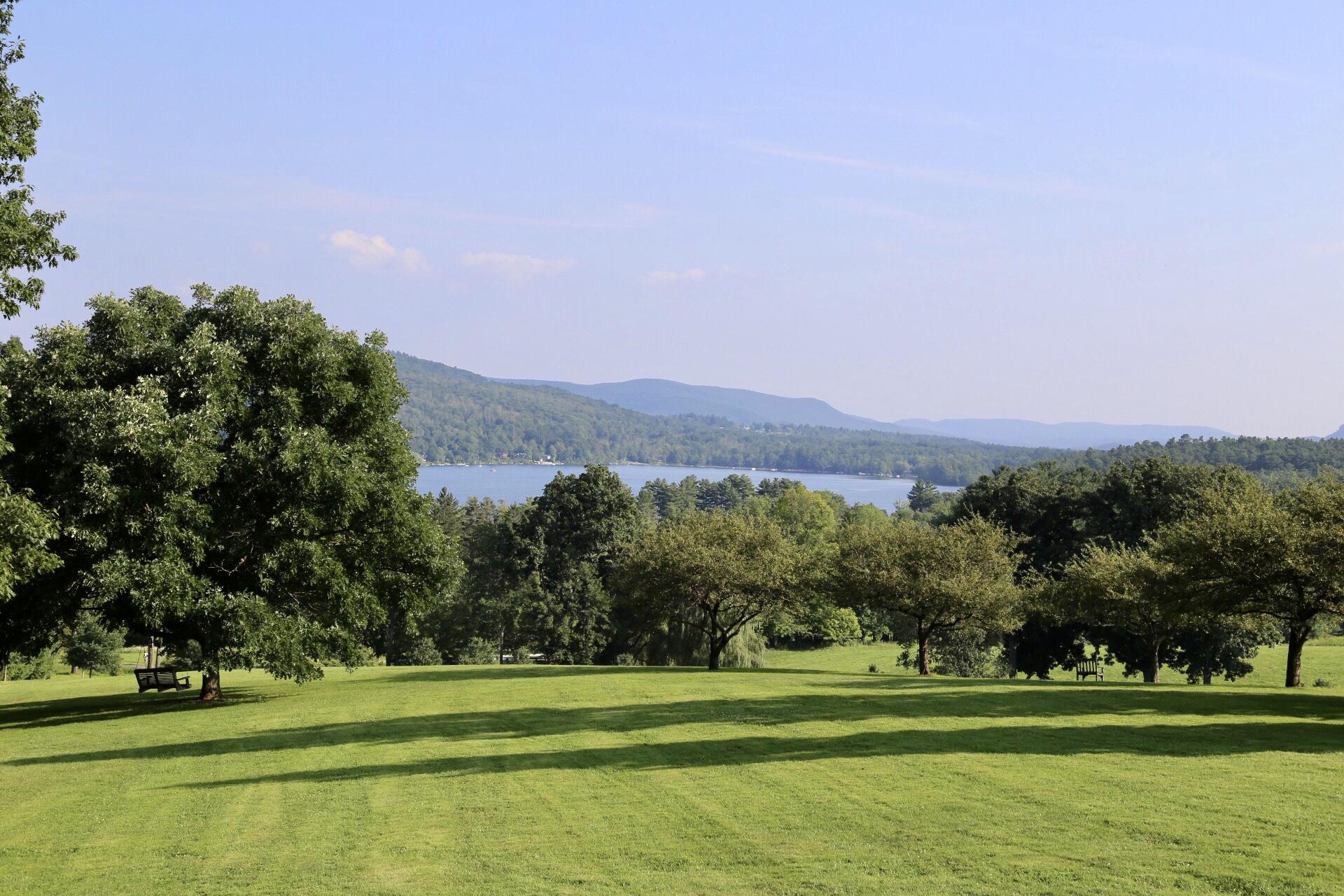The beautiful scenery at Kripalu, Massachusetts, USA